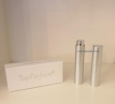 Luxe TapParfum® tas-verstuiver Zilver