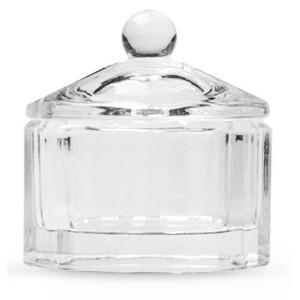 Dappendish glas met deksel