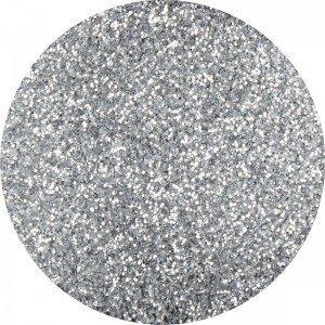 Glitter dust nr 004 silver opalescent