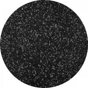 Glitter dust nr 004 black