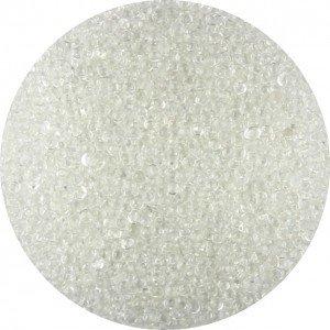 Glas kaviaar (bullion beads) clear