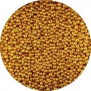 Glas kaviaar (bullion beads) gold