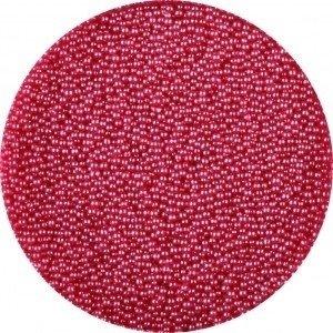 Glas kaviaar (bullion beads) red