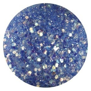 Confetti met glitter dust dark blue