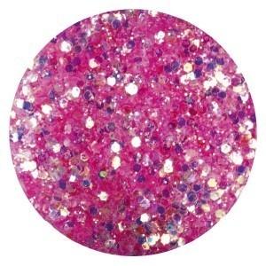 Confetti met glitter dust pink