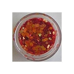 Red Opal Confetti small