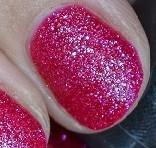 Sand Nail Art Pink