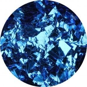 Glitter Flakes Blue