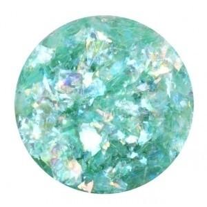 Glitter Flakes Green