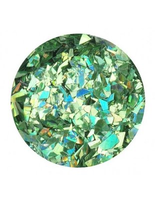 Glitter Flakes dark green