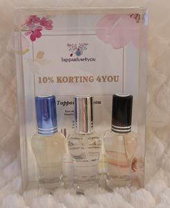 Tapparfum4you cadeauset Heren Houtachtig